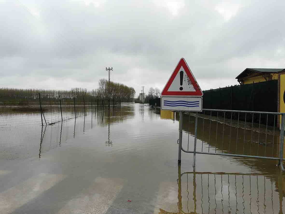 Ancora paura per l'alluvione