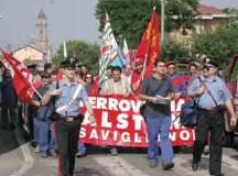 Alstom: indetto uno sciopero per i 55 esuberi