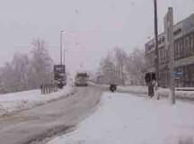 Arriva la neve: disagi sulle strade della Granda