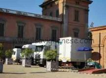 Si gira al castello di Racconigi una fiction per Canale 5