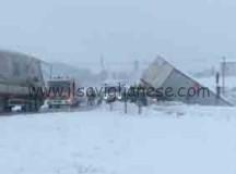 Nevicate: incidenti e uscite di strada nel saviglianese