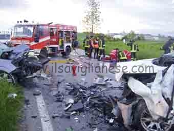 incidente incrocio frati