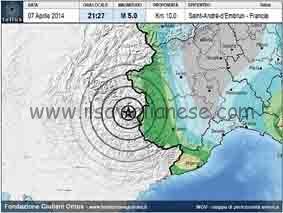 terremoto Embrun