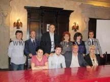 La squadra del sindaco Claudio Cussa