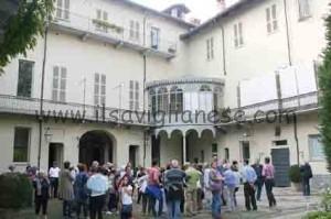 Cortile interno Palazzo Villa