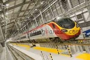 Alstom Pendolino Virgin