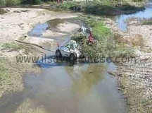 Operazione di pulizia del torrente Maira