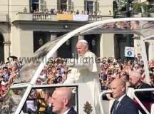 Col Papa a Torino