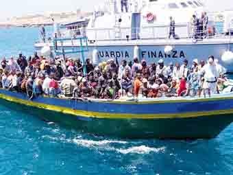 sbarco profughi