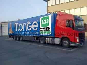 camion di monge - provocazione
