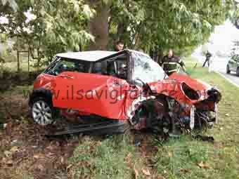 incidente curva s. rosalia