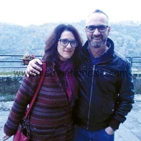 Lovera Gianni con sorella Maria 2