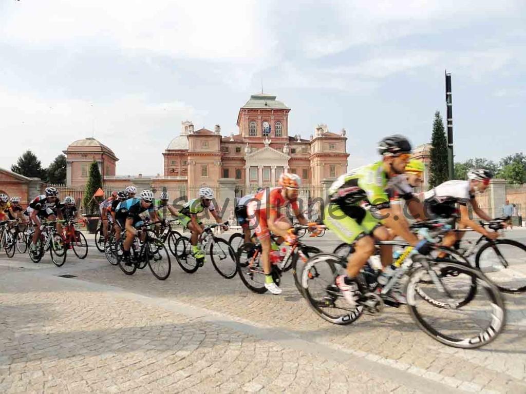 Gara ciclistica a Racconigi
