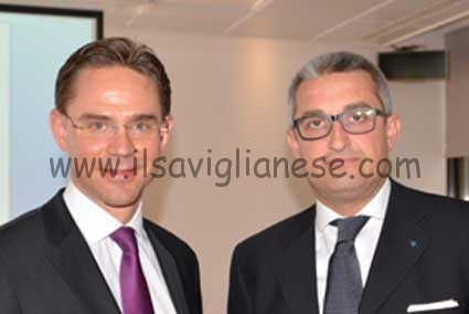 Katainen e Crosetto