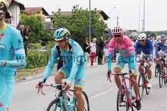 Nibali prima - Giro a Cava 2016
