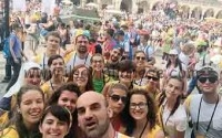 Giovani in Polonia hanno incontrato Papa Francesco