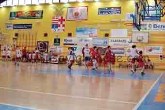Giovani amatori basket palaferrua
