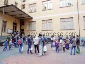 Primo giorno scuola Santarosa 2015-16