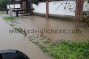 Forti piogge: la situazione nell'area saviglianese