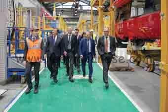 Alstom visita Poupart-Lafarge 2017