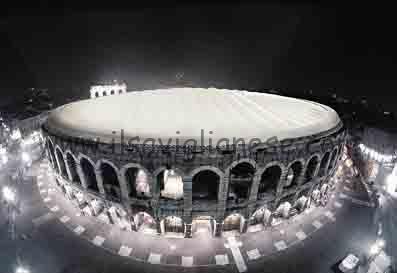 Arena Verona copertura prima