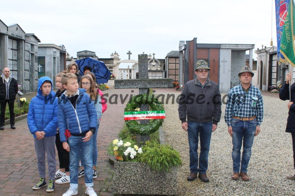 Villanova, commemorazione del 4 Novembre