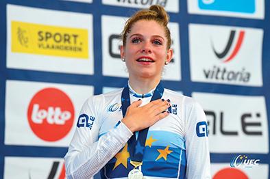 Due medaglie d'oro europee per Matilde