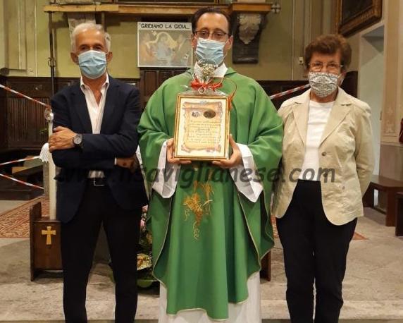 Il commiato di don Silvio